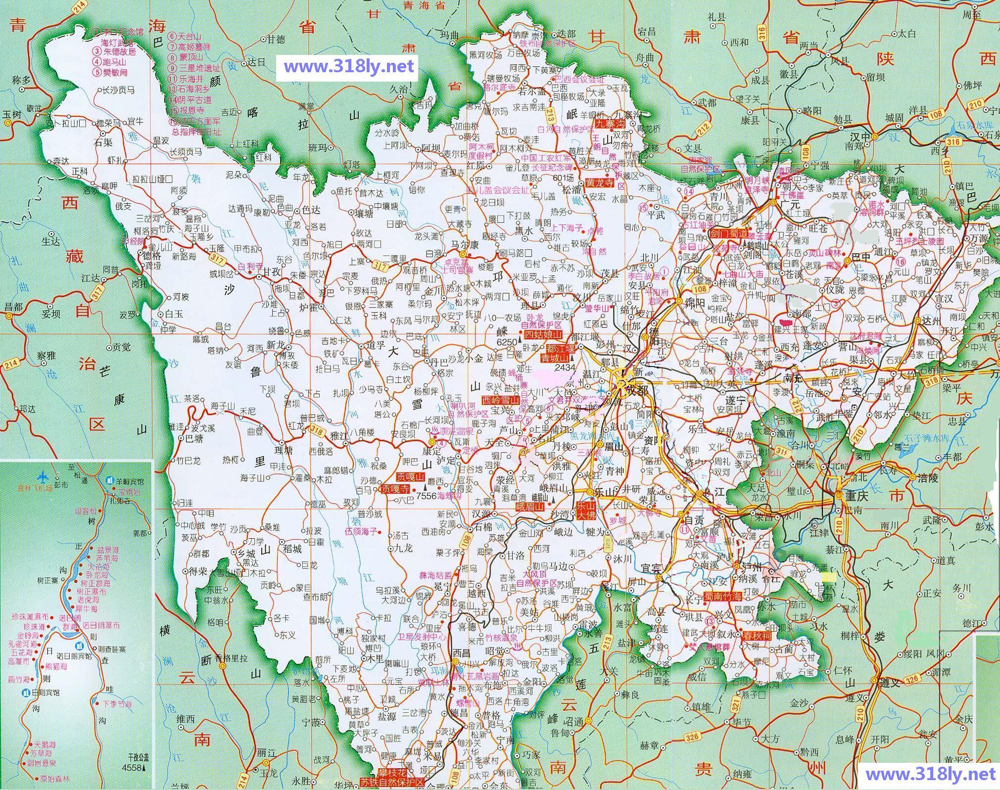 宁波市雅戈尔动物园景内地图